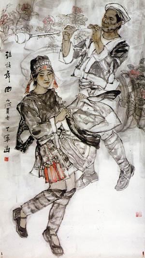 瑶族舞曲 瑶族舞曲典故 多种版本的瑶族舞曲音乐 视频 曲
